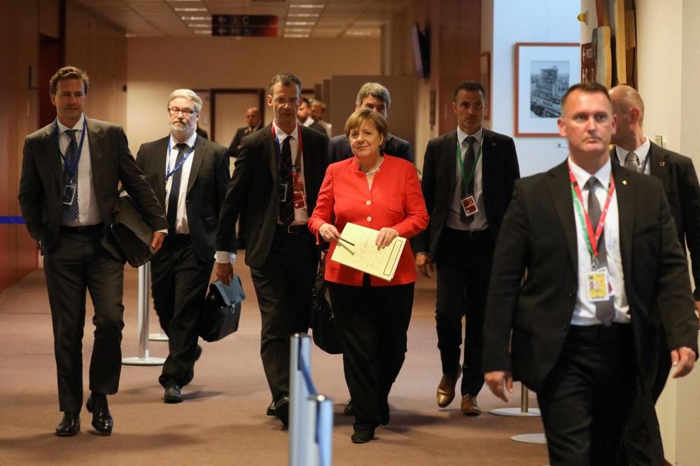 Vācijas kanclere Angela Merkele samitā Briselē, 29.06.2018.