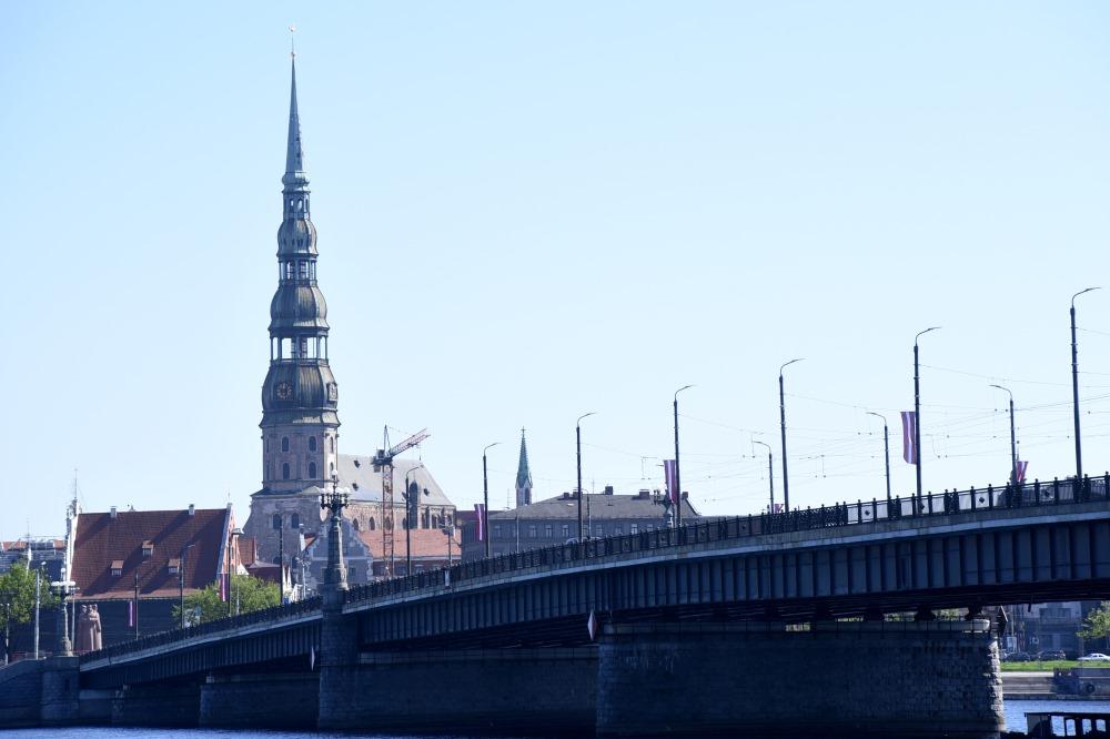 Akmens tilts Rīgā.