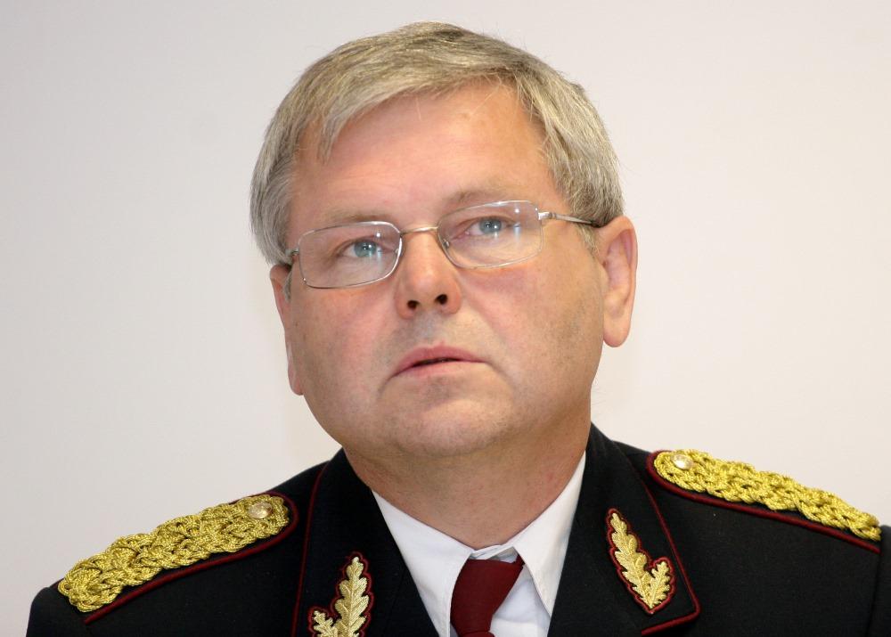 Arhīva foto. Bijušais Valsts policijas priekšnieks Aldis Lieljuksis.