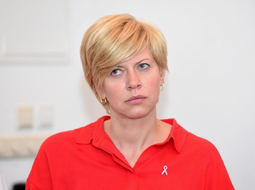 Veselības ministre Anda Čakša.