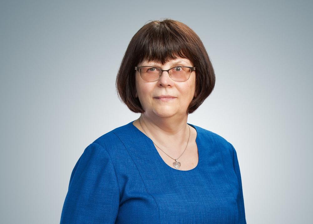 """Anna Medne, nodokļu eksperte un Biznesa augstskolas """"Turība"""" Uzņēmējdarbības vadības fakultātes docente."""