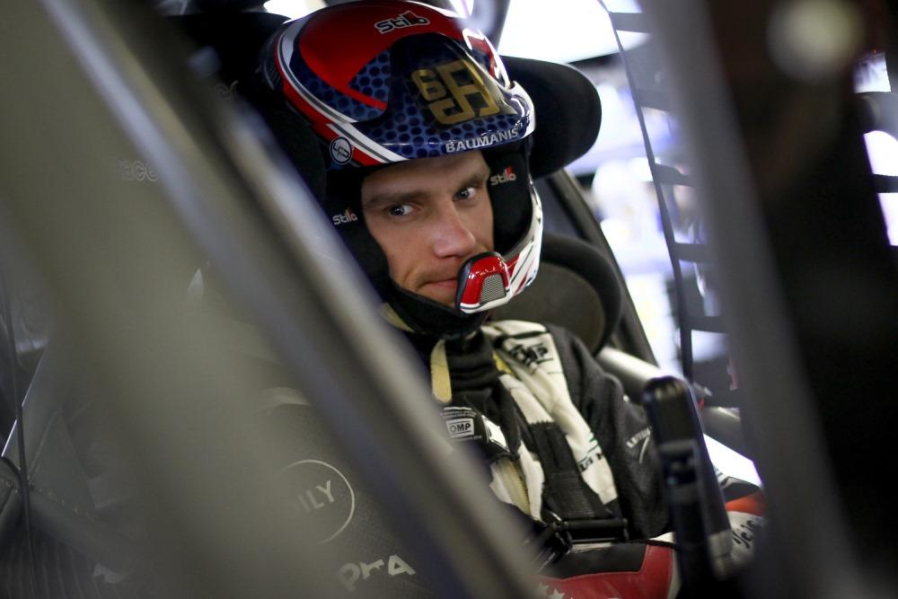 Autosportists Jānis Baumanis.