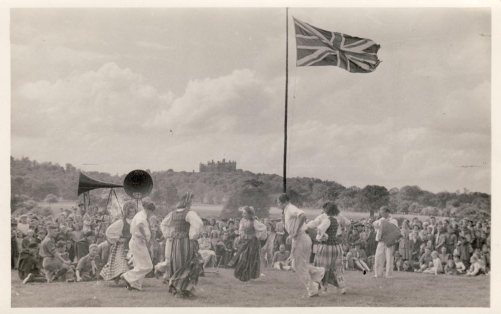 1. Tautas deju koncerts Anglijas latviešu dziesmu dienās. 1950.–1960.gadi.