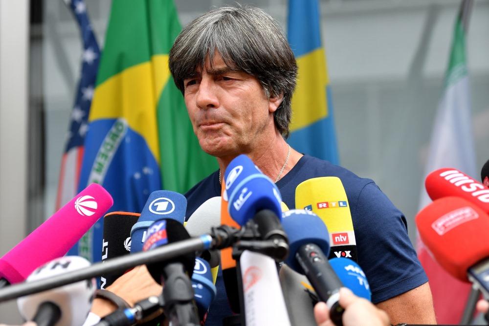 Vācijas futbola izlases galvenais treneris Joahims Lēvs.