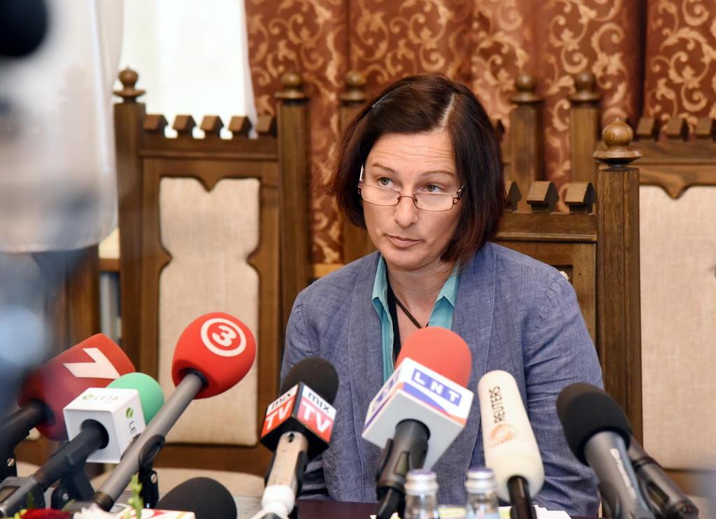 Ģenerālprokuratūras Krimināltiesiskā departamenta Sevišķi svarīgu lietu izmeklēšanas nodaļas prokurore Viorika Jirgena
