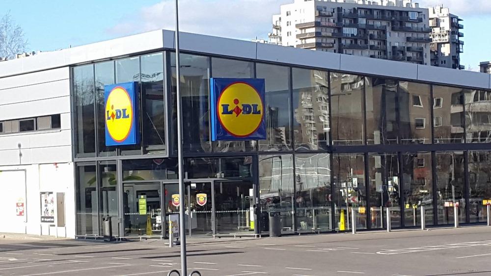 """""""Lidl"""" veikals Lietuvā."""