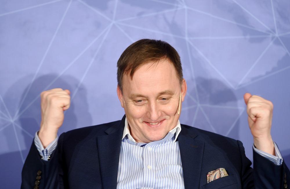 """""""Swedbank"""" ekonomists Mārtiņš Kazāks."""