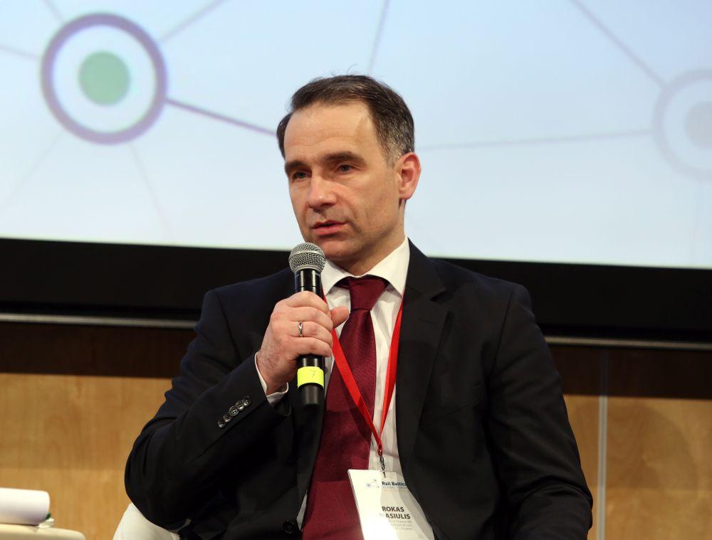 Lietuvas transporta ministrs Roks Masjulis