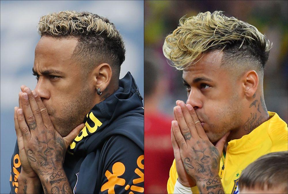 Brazīlijas futbolists Neimārs.