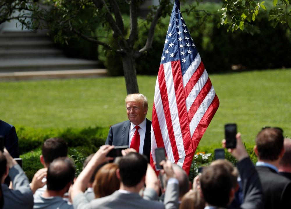 ASV prezidents Donalds Tramps, 05.06.2018