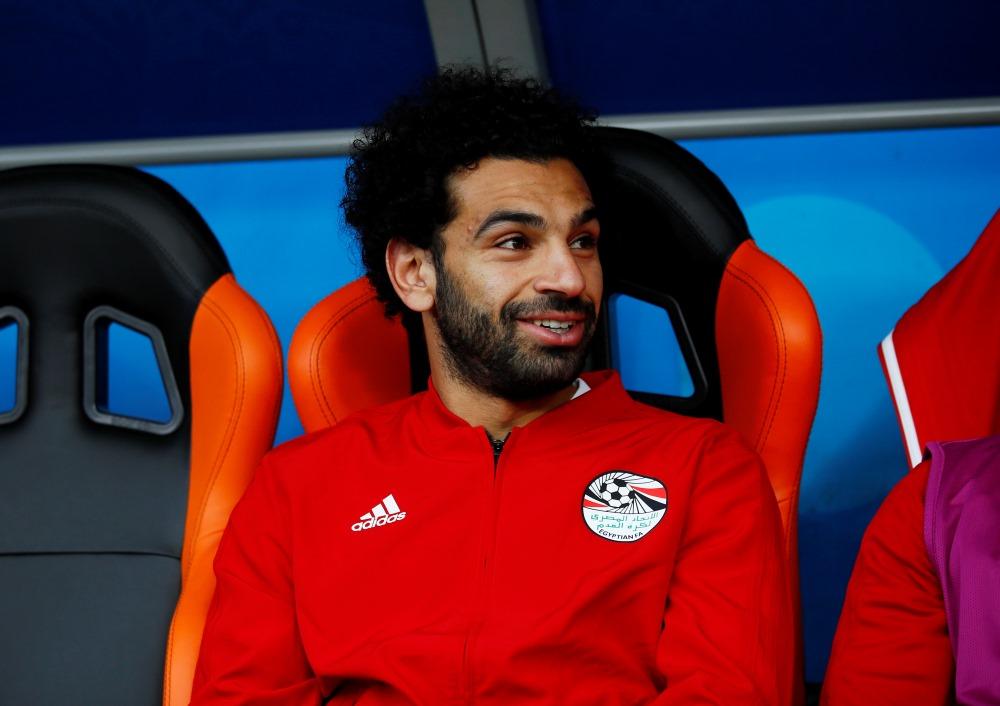 Ēģiptes futbolists,uzbrucējs Mohameds Salāhs.