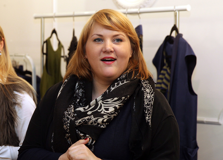 Stiliste un modes dizainere Indra Salceviča