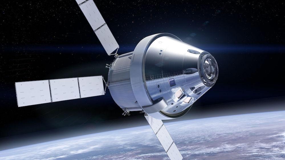 """Vairākkārt izmantojamais kosmosa kuģis """"Orion"""""""