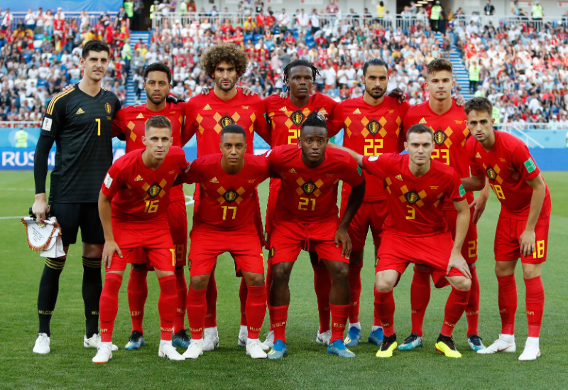 Beļģijas futbola izlase