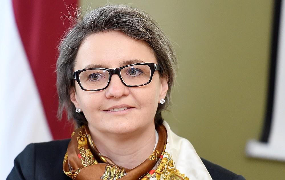 """Inese Andersone, Rīgas domes deputāte (""""Vienotība"""")"""