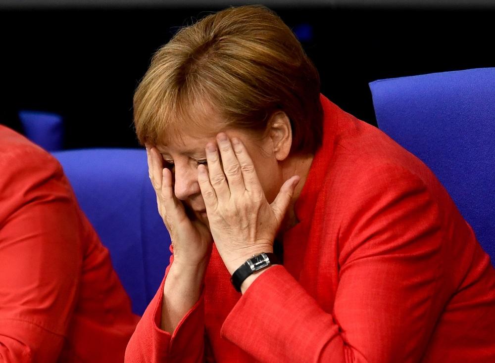 Vācijas kanclere Angela Merkele, 04.07.2018.
