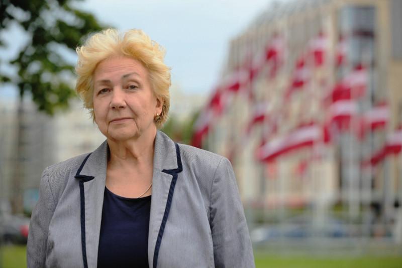 Politoloģe Ilze Ostrovska