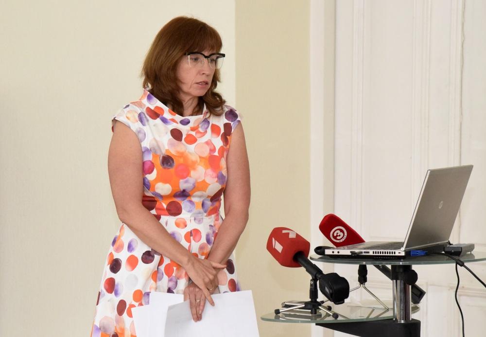 PTAC direktore Baiba Vītoliņa, 2018.gada maijā.