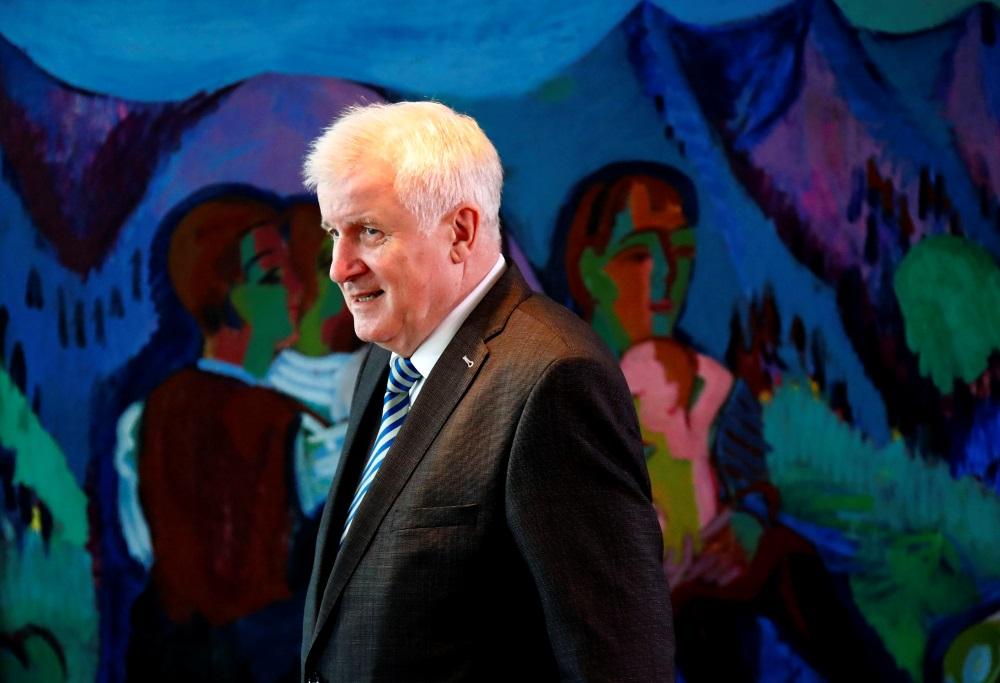 Vācijas iekšlietu ministrs Horsts Zēhofers, 11.07.0218.