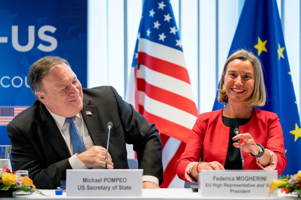 ASV valsts sekretārs Maiks Pompeo.