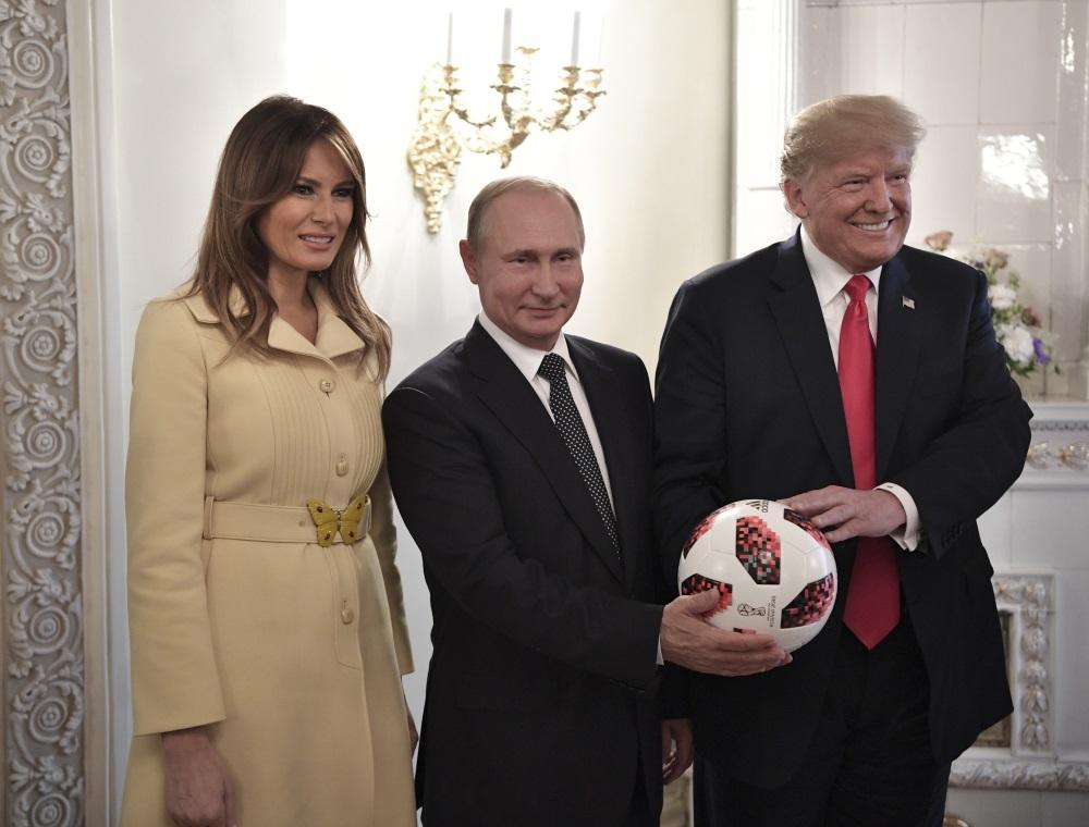 ASV prezidenta Donalda Trampa un Krievijas prezidenta