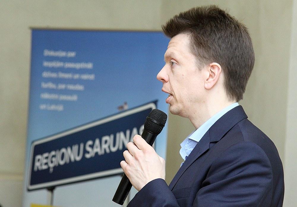 Latvijas Bankas ekonomists Andris Strazds