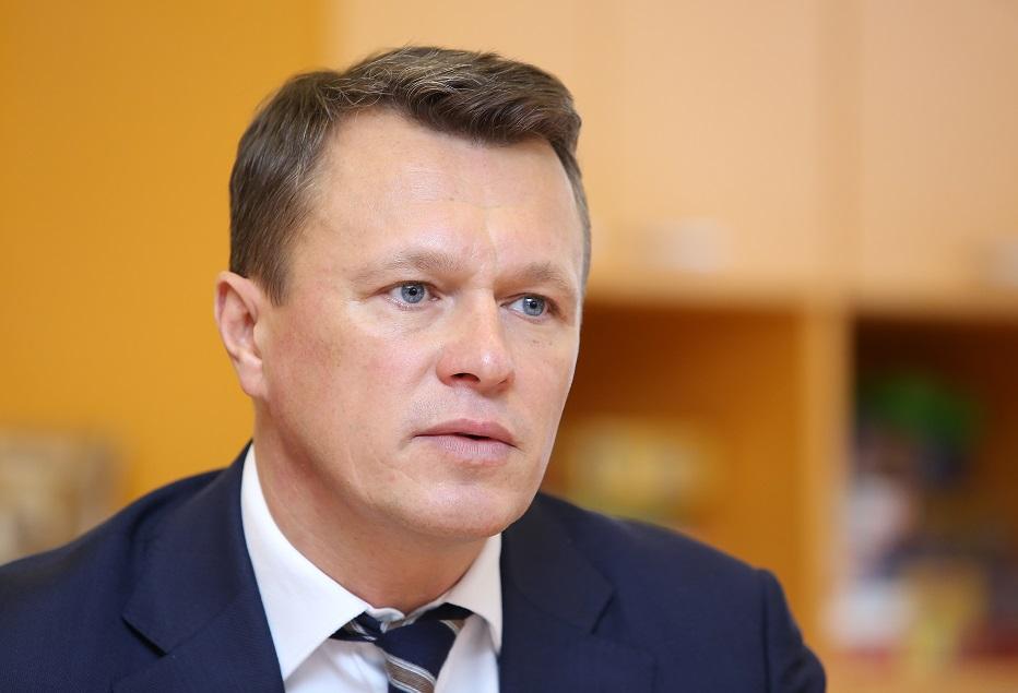 Latvijas lielo slimnīcu asociācijas vadītājs Valts Ābols