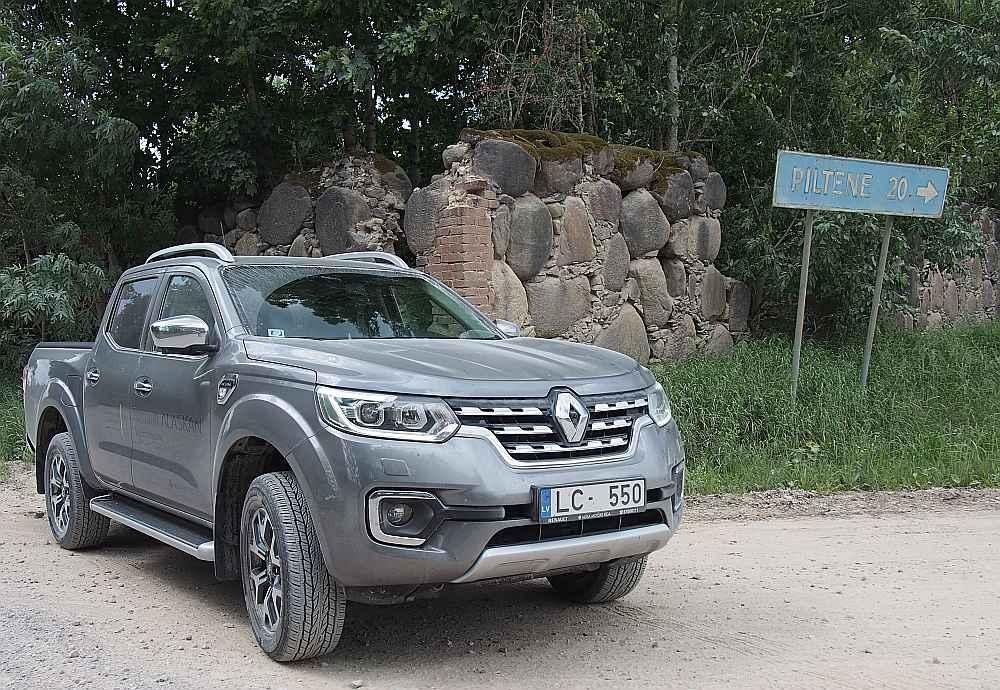 """""""Renault Alaskan"""" Kurzemē."""