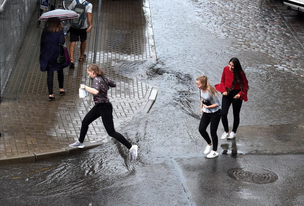 Rīga pēc lietus, 13.07.2018.