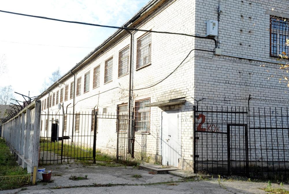 Slēgtais Šķirotavas cietums Rīgā. Arhīva foto.