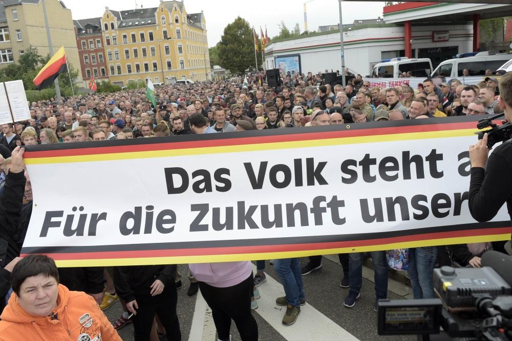 Protesti Kemicā, Vācijā, 30.08.2018.