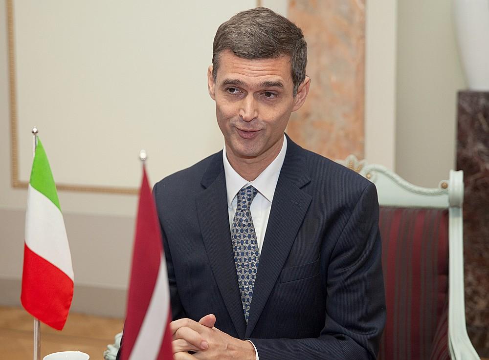 Sebastjāno Fulči, Itālijas vēstnieks Latvijā