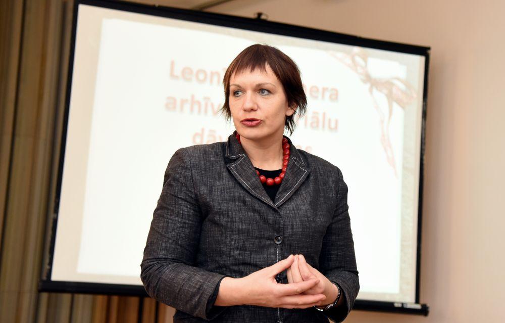 Rakstniecības un mūzikas muzeja direktore Iveta Ruskule.