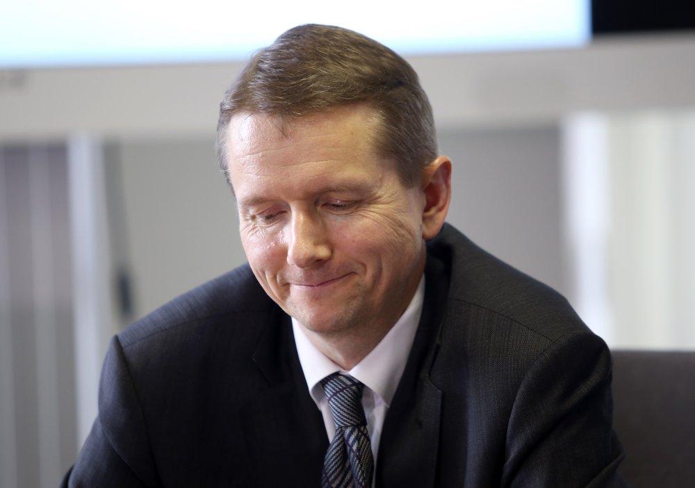 Finanšu un kapitāla tirgus komisijas priekšsēdētājs Pēters Putniņš.
