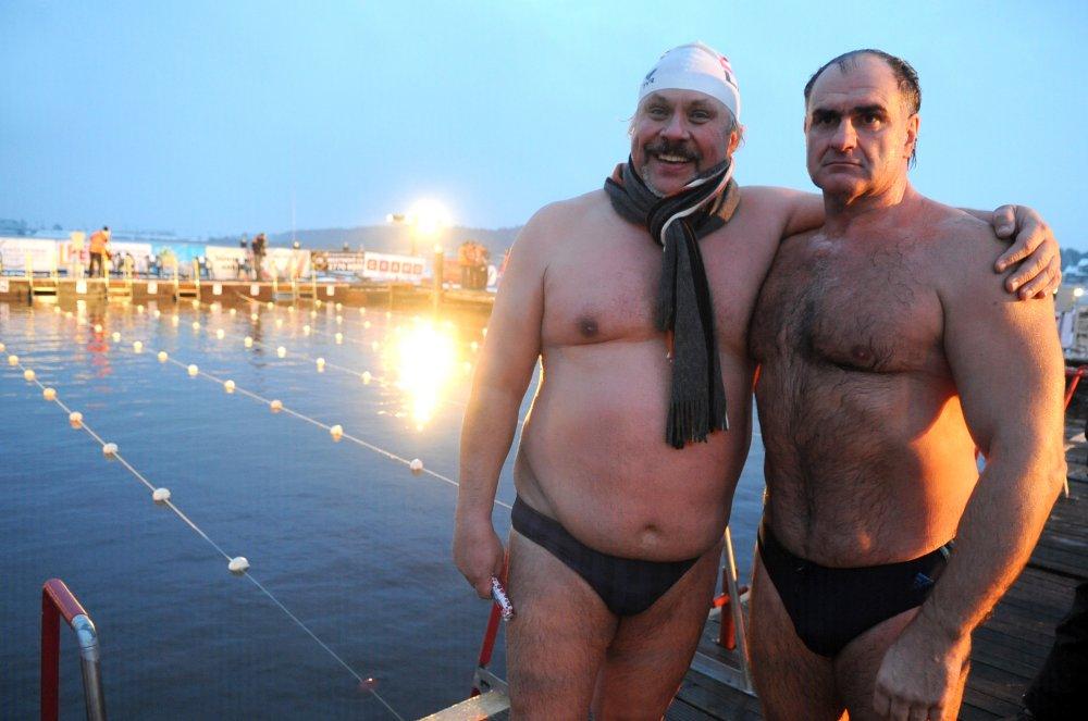 Pasaules čempionāts ziemas peldēšanā Jūrmalā.