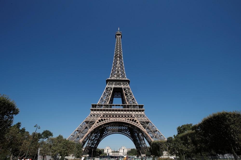 Eifeļa tornis Parīzē, Francijā.
