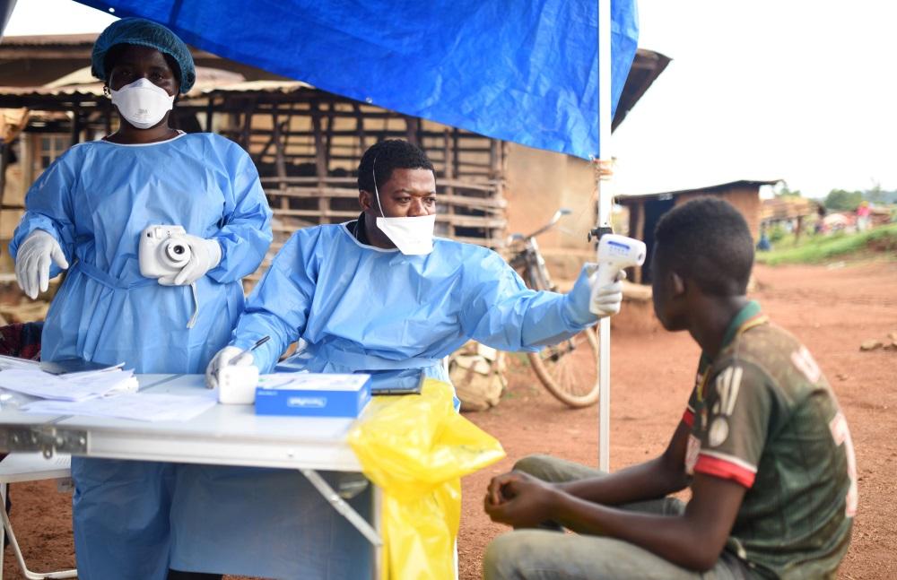 Kongo DR pārbauda iedzīvotājus pirms vakcinācijas pret Ebolas vīrusu, 18.08.2018.
