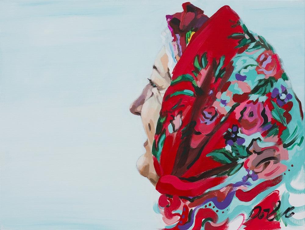 """Dace Dēliņa-Lipska, """"Acīs jūra"""", 2016.g."""