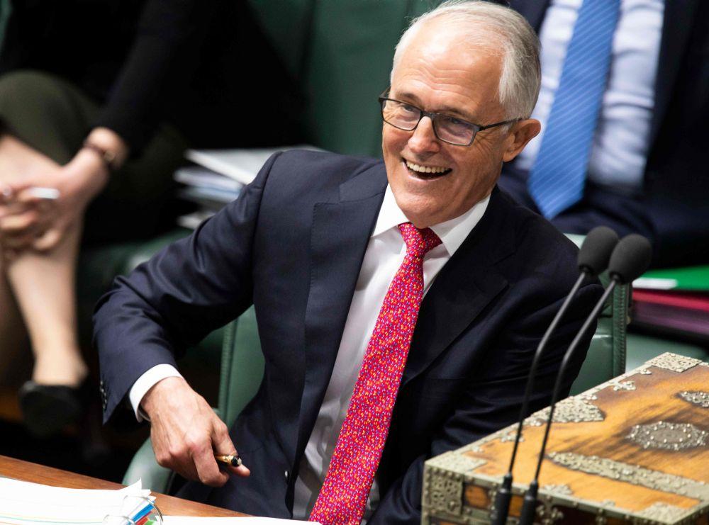 Austrālijas premjerministrs Malkolms Tērnbuls