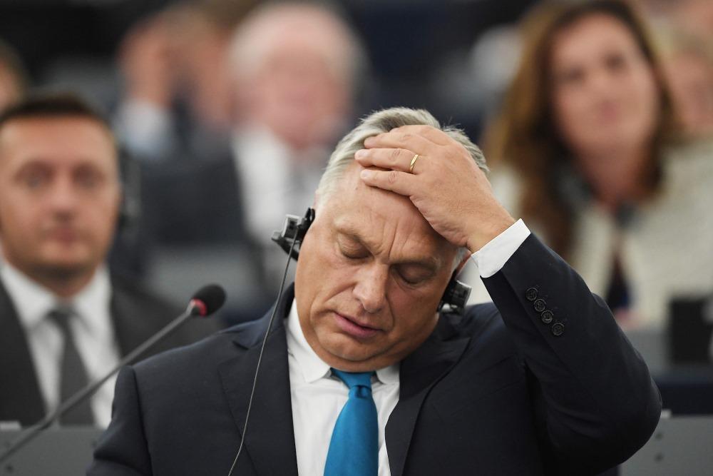 Ungārijas premjers Viktors Orbāns.