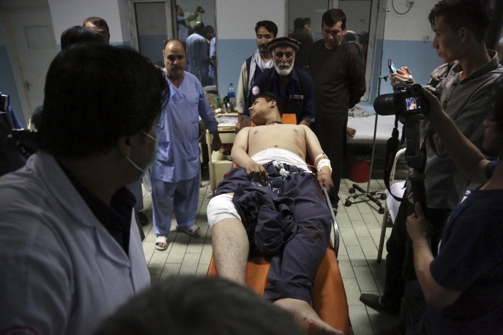 Dubultsprādziens Kabulā, 05.09.2018.