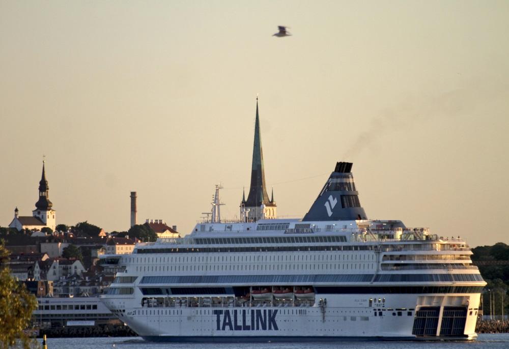 Tallinas panorāmas skats.
