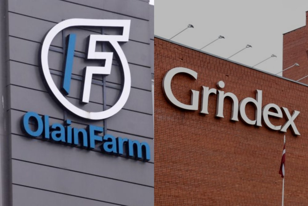 """Olainfarm"" un ""Grindeks"""