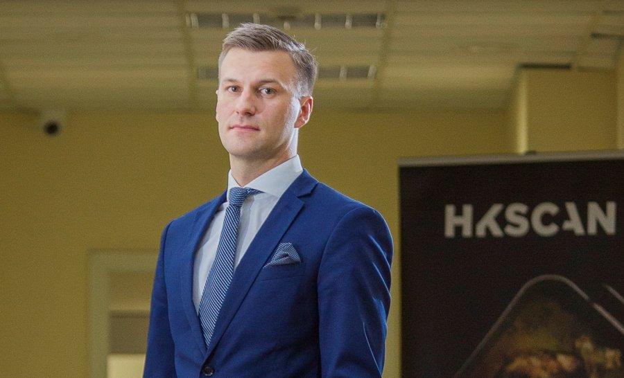 """""""HKScan Latvia"""" pārdošanas direktors Heino Lapiņš."""