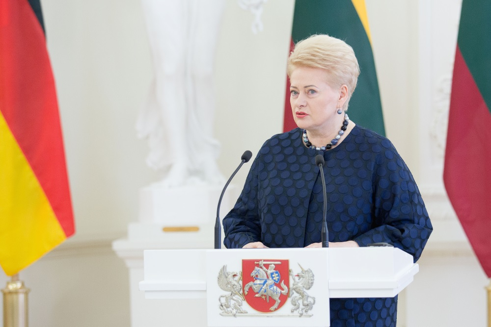 Vācijas kancleres Angelas Merkeles vizīte Baltijā, Lietuvā, 14.09.2018.