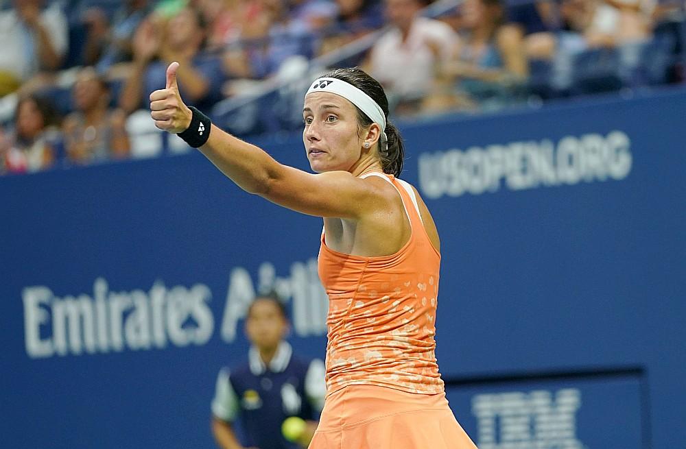 """Latvijas tenisiste Anastasija Sevastova otro gadu pēc kārtas spēlēs otrajā nozīmīgākajā sezonas finālturnīrā """"WTA Elite Trophy""""."""