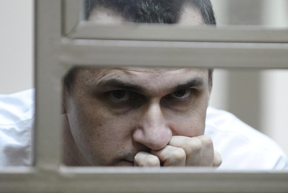 Ukrainas režisors Oļegs Sencovs cietumā Krievijā, 05.09.2018.