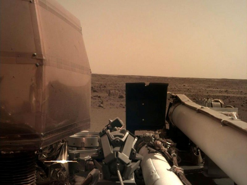 View from Probe to Mars