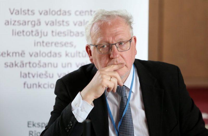Valsts valodas centra direktors Māris Baltiņš