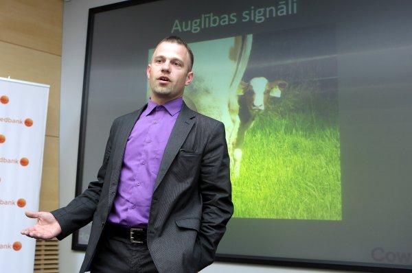 """""""Swedbank""""  lauksaimniecības eksperts Raimonds Miltiņš."""